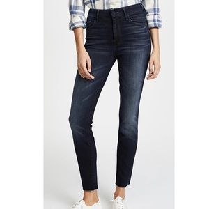 MOTHER High Waisted Skinny Jeans